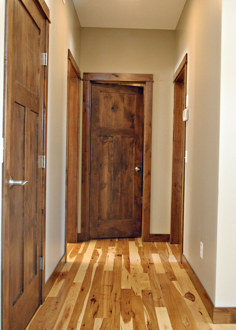 KNOTTY ALDER 6\/8 PRE-HUNG CRAFTSMAN INTERIOR DOOR IN-1013 - KSR Door and Mill Comany