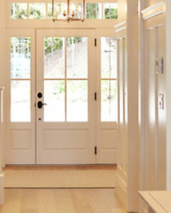 Cottage style 4 lite entry door 36 x 80 ex 1344 ksr for 4 light exterior door