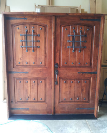 KNOTTY ALDER RUSTIC ARCH TOP ENTRY DOOR EX 1339Double Entry Doors with Glass Archives   KSR Door and Mill Comany. Double Entry Doors With Glass. Home Design Ideas