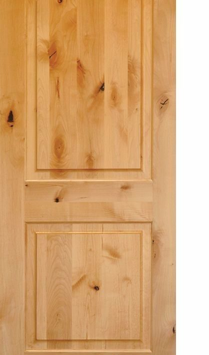 Pre hung knotty alder interior doors arch top raised panels in 1003 ksr door and mill comany for 2 panel arch top interior doors