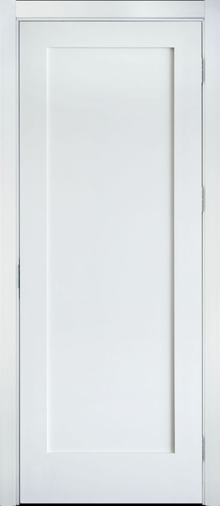Primed white solid core 1 panel shaker mission style interior door 2primed white solid core 1 panel shaker mission style interior door in planetlyrics Image collections
