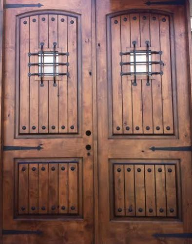 (3) KNOTTY ALDER RUSTIC ARCH TOP ENTRY DOOR EX-1339 & KNOTTY ALDER RUSTIC ARCH TOP ENTRY DOOR EX-1339 - KSR Door and Mill ...
