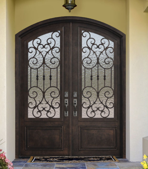 8ft forged steel double entry door ex 1345 ksr door and mill comany