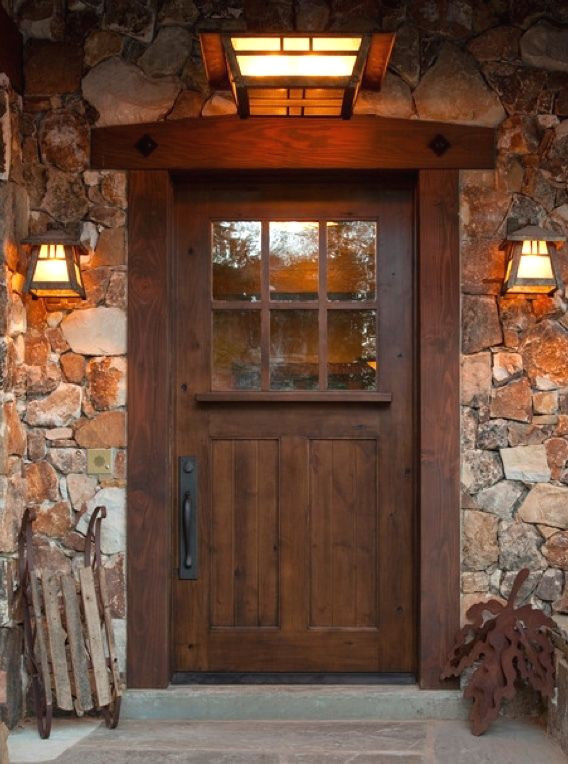 Ksr Sundance Style Craftsman Knotty Alder Entry Door Ex 1333 Ksr Door And Mill Comany