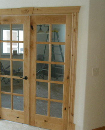 KNOTTY ALDER 10-LITE INTERIOR FRENCH DOORS IN-1007 & Interior Doors Archives - KSR Door and Mill Comany