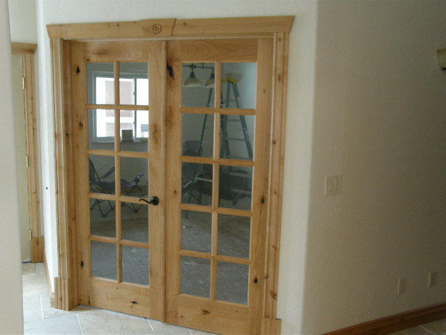 Home Interior Doors Lighted 10 Lite Knotty Alder French In 1007