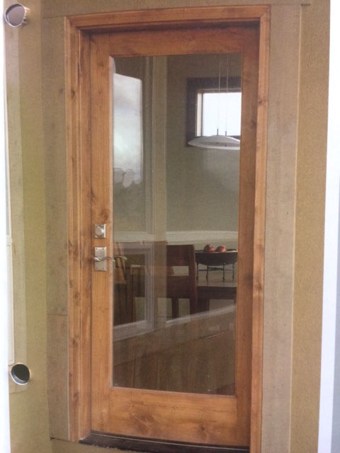 Prime Knotty Alder Interior Full Lite Glass Door In 1005 Ksr Door And Mill Comany Door Handles Collection Olytizonderlifede