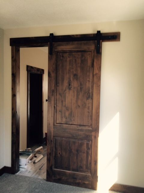 Kotty Alder 2 Panel Square Top Barn Door Bd 1003 Ksr