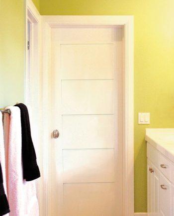 shaker interior door styles. PRIMED WHITE 5-PANEL SOLID CORE SHAKER MISSION STYLE INTERIOR DOOR IN-1012 Shaker Interior Door Styles